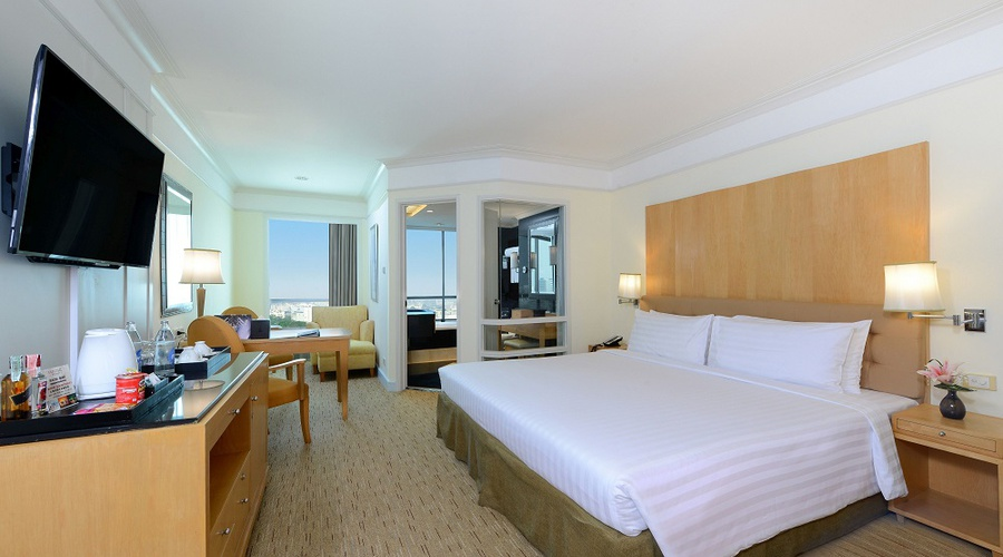 DELUXE ROOM Miracle Grand Convention Hotel en Bangkok